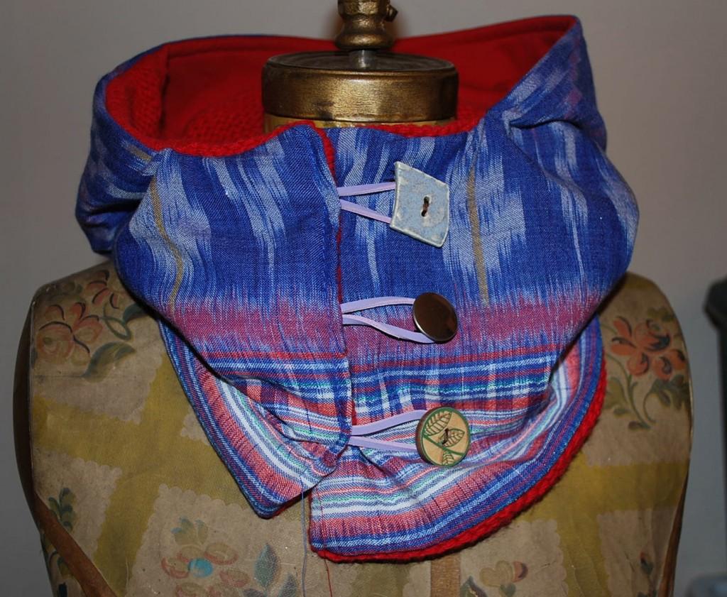 Florida Scarf Hood Bali Fabric