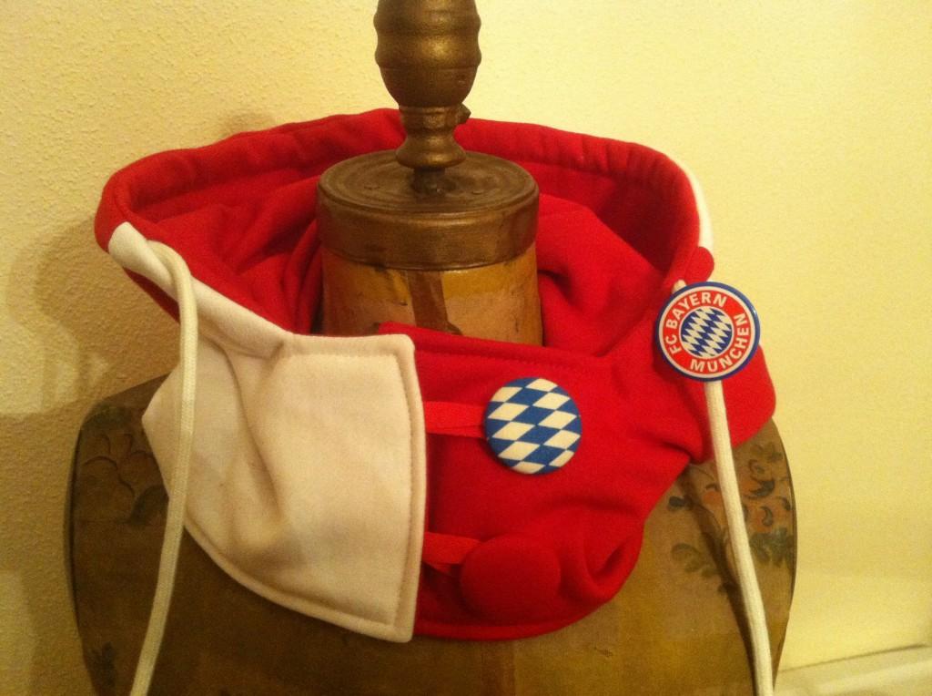 Florida Scarf German Soccer Hoodie Hat