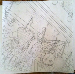 Sketch for Painting