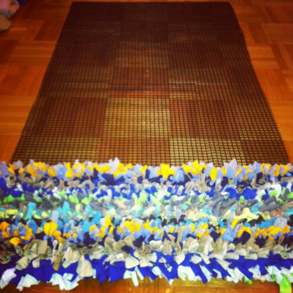 T Shirt Rug Project