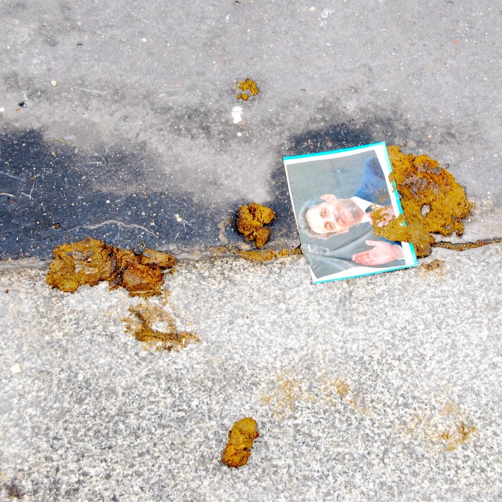 Street Art with Poop