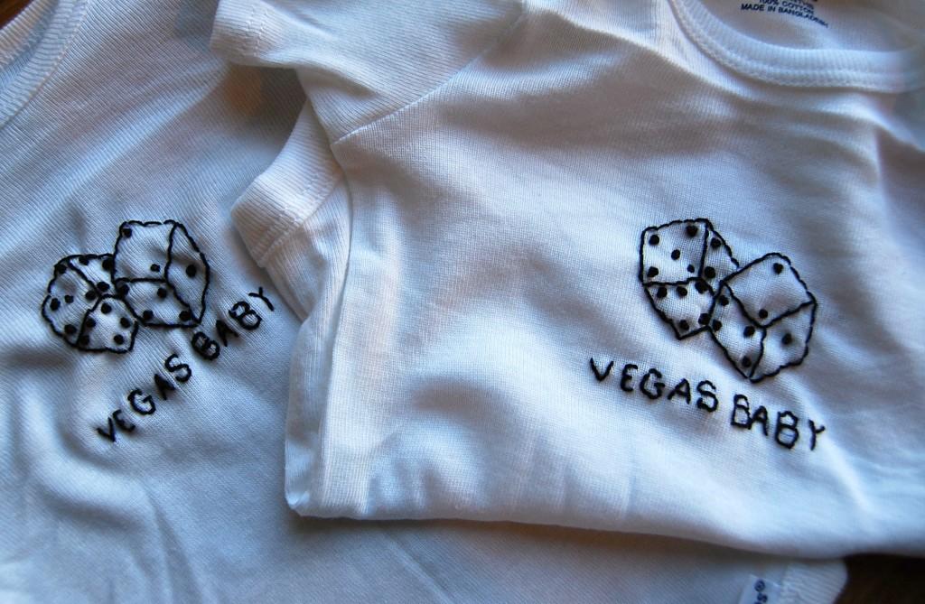 Vegas Baby Onesie
