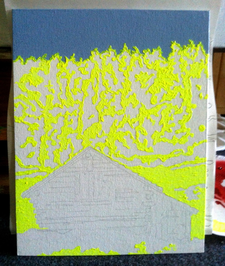 Neon Farm House