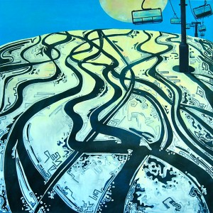 Chairlift Painting