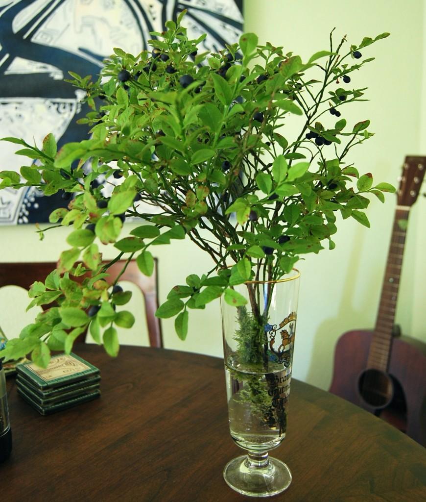 Blueberry Vase