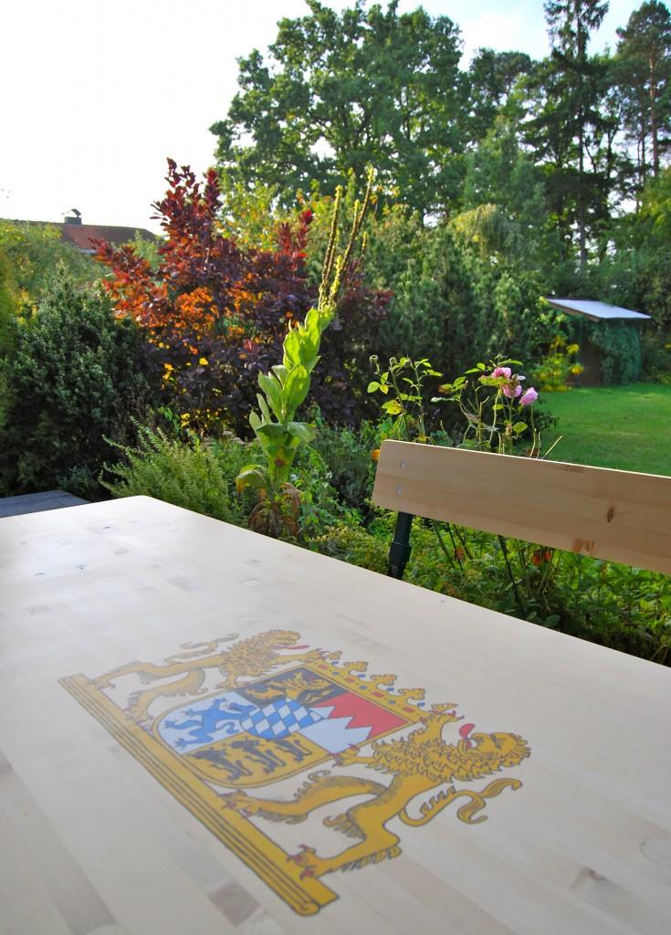 Painted Fest Table Bavaria