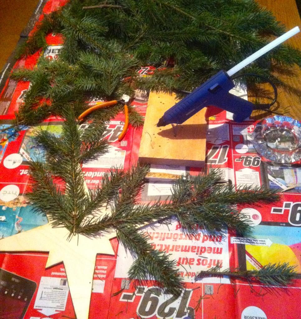 Christmas Craft Table