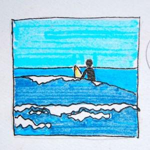 Surfer Sketch
