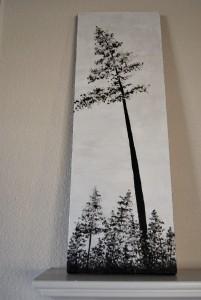 german tall pine tree
