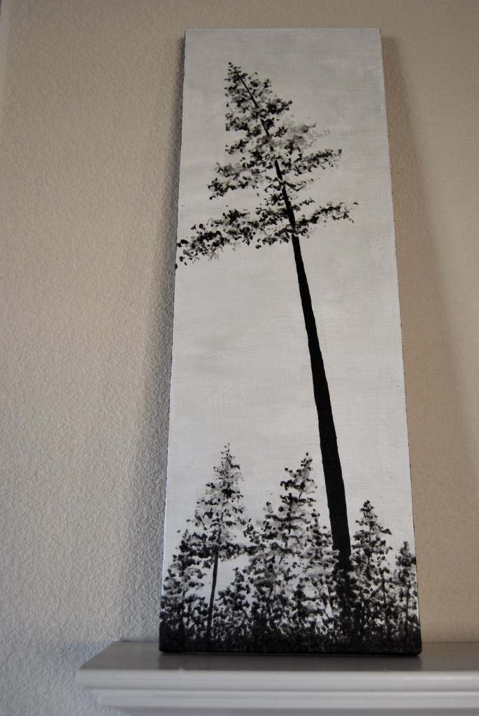 german tall pine tree
